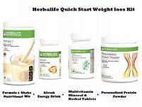 HERBALIFE Quick Start Weight Loss Program Kit
