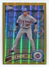 2011 Topps Chrome Gold Refractor #106 Ike Davis #/50 Mets