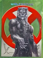 2018 Fleer Ultra X-Men Trading Cards X-Cuts Clear Insert Wolfsbane XC7