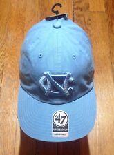 170950bd5bda9 RARE NORTH CAROLINA BLUE TARHEELS TAR HEELS UNC 47 CLEAN UP TRUCKER DAD HAT  CAP