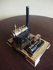 Dampfmaschine wilesco Schwarz-Messing seltenes Sammlerstück