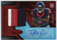 2016 Certified Freshman Fabric Mirror Red Jersey Patch RC AUTO /249 Tyler Ervin