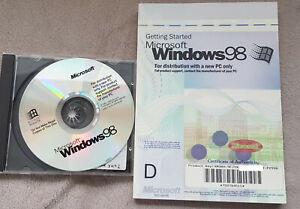 Microsoft Windows 98 - Englisch - inkl. Mwst