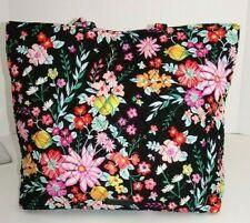 Vera Bradley Tangerine Twist Essential Tote / Shoulder SHOPPER Bag