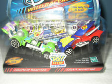 2002 Hasbro Disney Wild Racers Toy Story / Light Warpster / Galaxy Aggressor