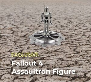 """FALLOUT 4 """"ASSAULTRON FIGURE"""" Crate #21 """"Attack"""" Theme LootCrate Exclusive"""