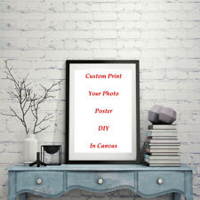 DIY Custom Canvas Print Poster Your Photo Picture Home Decor Personalized Gifts