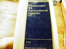 Cat Caterpillar 65 Challenger Agricultural Tractor Service Manual 7Yc
