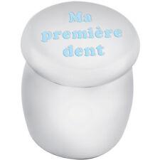 """Caja de Hada de los dientes """"grabado ma Premiere abolladura"""" en Azul Esmalte de Ari D Norman"""