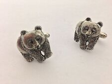 Panda PP-A40 Fine English Pewter Cufflinks
