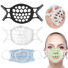 2/5/10P Adult Face Mask Bracket washable Cover Inner Stand Soft Silicone Holder
