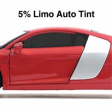CAR WINDOW TINT FILM - LIMO BLACK AUTO TINTING - 76cm x 6 meters