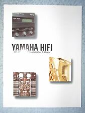 YAMAHA _ HIFI Katalog 1992