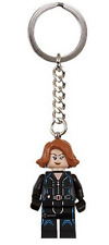 LEGO - Super Heroes - Black Widow Mini Figure (Civil War version) Key Chain