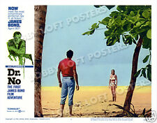 DR. NO LOBBY SCENE CARD # 6 POSTER JAMES BOND 1962 SEAN CONNERY URSULA ANDRESS