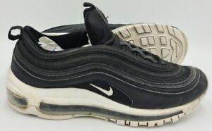 Nike Air Max 97 Leather Trainers GS Black/White 921522-001 UK5.5/US6Y/EU38.5