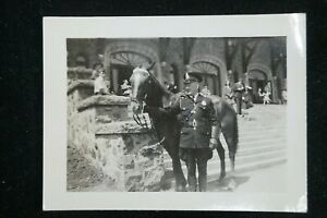 Canadian Vintage Mounted Police Photo