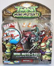 RARE 2007 TMNT MUTANT NINJA TURTLES MINI MOTO CYCLE RAPHAEL NEW MOSC !