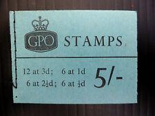 Pre-Decimal Used British Stamp Booklets
