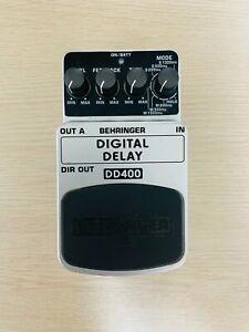 [Excellent++] BEHRINGER DD400 DIGITAL DELAY Guitar Effect Pedal USED Only Body