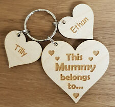 PERSONALISED MOTHERS DAY BIRTHDAY GIFT MUM NAN MUMMY GRANDMA CHRISTMAS KEYRING