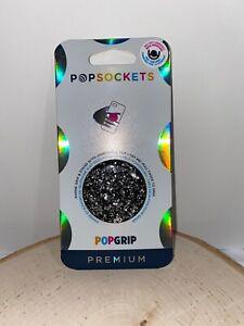 PopSockets Premium PopGrip Foil Confetti Silver