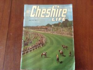 Vintage cheshire life magazine may 1972.In good condition for the age.