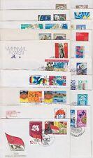 DDR FDC Sammlung ex 1975 - 1977, 19 Stück, Lot, first day cover