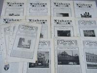 Liahona The Elders Journal LDS History Vintage Antique Journal BIG Lot Rare 1916
