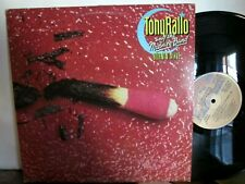 Tony Rallo And The Midnite Band Lp Burnin Alive Ex Disc w Holdin On