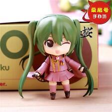 NEW Q Version Hatsune Miku Painted Action PVC Figure Dolls Anime Toy AU