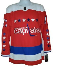 New size 52 Adidas TJ OSHIE JERSEY Washington Capitals Red LARGE #77 T.J. retro