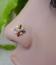 Nez Piercing Mandala Piercing Aros Para La Nariz Indian Nose Ring Indischer  pin