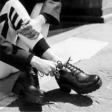 Vagabond Black Dioon 6 holes Leather Ankle Boots 6 UK 39 EU RRP £90