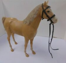 Vintage 1960s Louis Marx & Co Inc Best of the West Johnny West Beige Horse Bh605