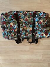 """Thirty-one Multicolor Floral Utility Tote With """"Grammy"""" Embroidered"""