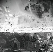6x4 Gloss Photo ww761 Normandy D-Day Jb Juno Beach Vue Aerienne