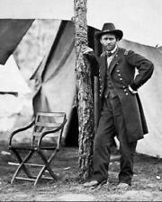 General Ulysses S. Grant at City Point 1864 8x10 Photo J-218