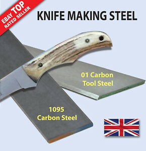Knife Making Steel 1095 or 01 Tool Steel  - Fast Despatch - 2-3 Day Delivery