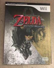 Legend Of Zelda Twilight Princess Official Strategy Guide Nintendo RARE