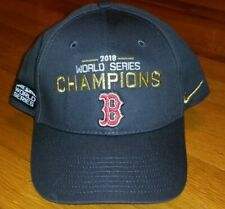 *RARE* NIKE BOSTON RED SOX Championship 2018 Hat Adult cap baseball mlb