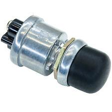 Taster Schalter 12 24 V Volt Auto schwarz rund Druck wasserdicht Gummi Kappe E08