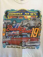 Beach Blast 19 Cocoa Beach FL 2013 white cruise news classic cars M t shirt