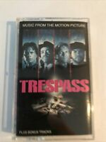 Trespass- Motion Picture Soundtrack- Cassette