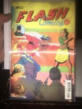 flash #22 lenticular cover hot the button #4
