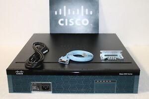 Cisco 2951-HSEC K9 Gigabit Hohe Seck9 Router ISM-VPN-29 C2951-HSEC K9 IOS-15.7