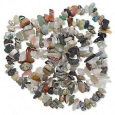 """36"""" Strand Multi Gemstone (N/D/MM) Small to Large Top Drilled Chip Bead Mix"""