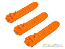 8 x Schrägstein doppelt gebogen 4x1 hell orange 93273 NEUWARE LEGO