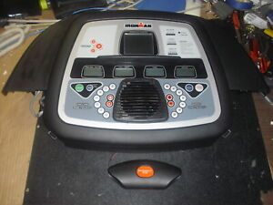 Ironman T150 Treadmill Main Control Panel with Emergency Stop and Frame
