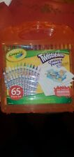 Crayola Twistables Colored Pencil Kit - 25 twistables and 40 blank pages